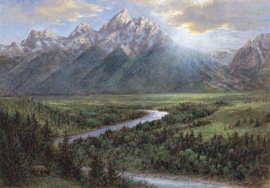 painting by John McNaughton